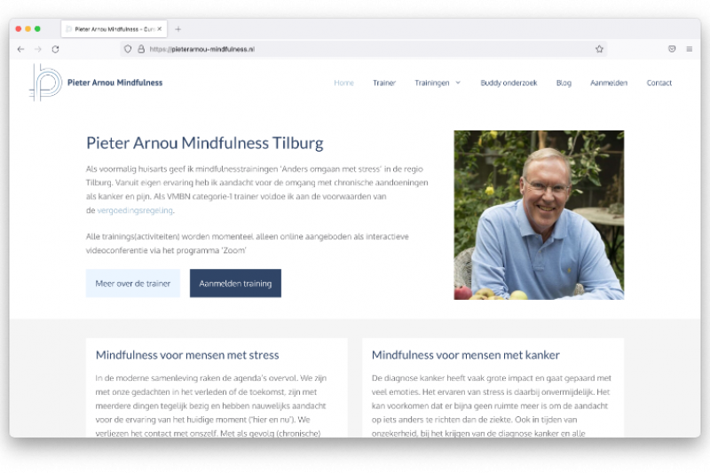 Pieter Arnou mindfulness